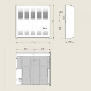 CALEFACTOR CTZ COMPACTO2000 6000 KCAL/H