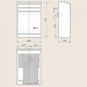 CALEFACTOR CTZ TN LP 4000 KCAL/H
